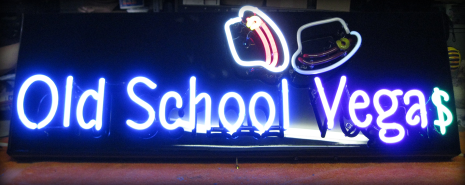 Old School Vegas Neon Sign